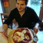 Pizza hecha en casa