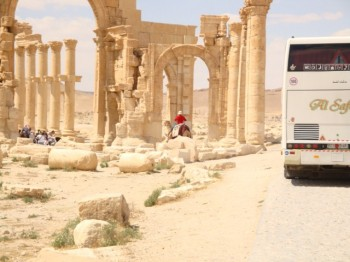 Arco munumental - palmira- syria