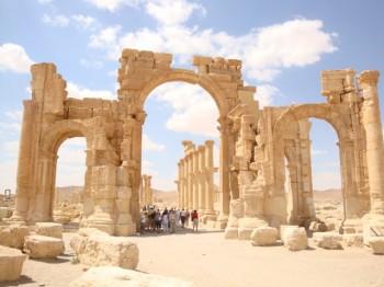 Arco munumental - palmira- syria2