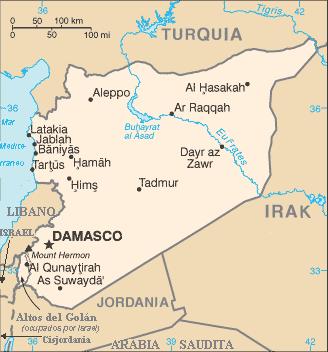 Syria map_Mapa_de_Siria
