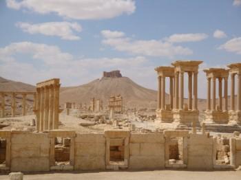 Tetrapylon Palmira - syria