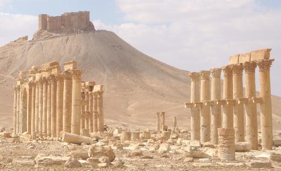 campamento de diocleciano - palmira- syria