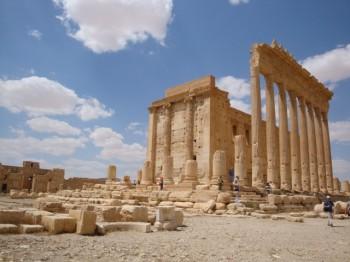 palmyra - palmira - siria templo de baal 2