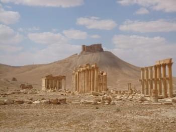 qalat ibn maan castillo arabe - palmyra- syria 3