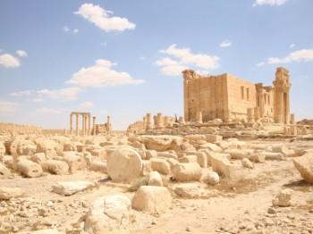 templo de baal - palmira