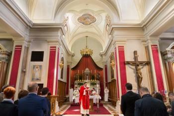 bautizo a la italiana la misa