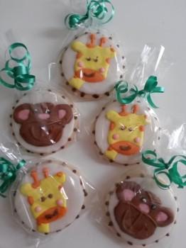 bomboniera battesimo galletas
