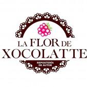 la flor de xocolatte_resposteria de autor_mexicali_LOGO 1
