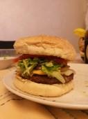 harmburguesa de carne sin grasa, sin mayonesa